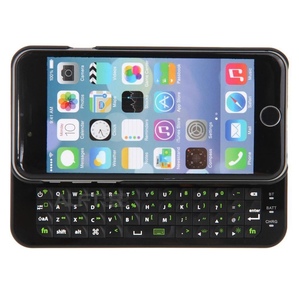 pictures of iphone 6 sliding bluetooth qwerty keyboard protective back 3484