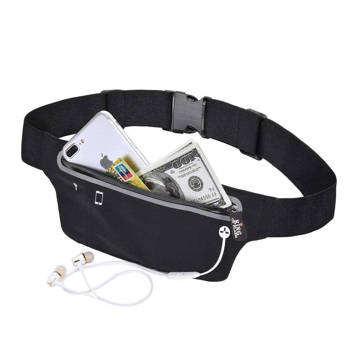 Unisex Waist Belt Bum Bag Jogging Running GYM Travel Pouch Keys Mobile Money