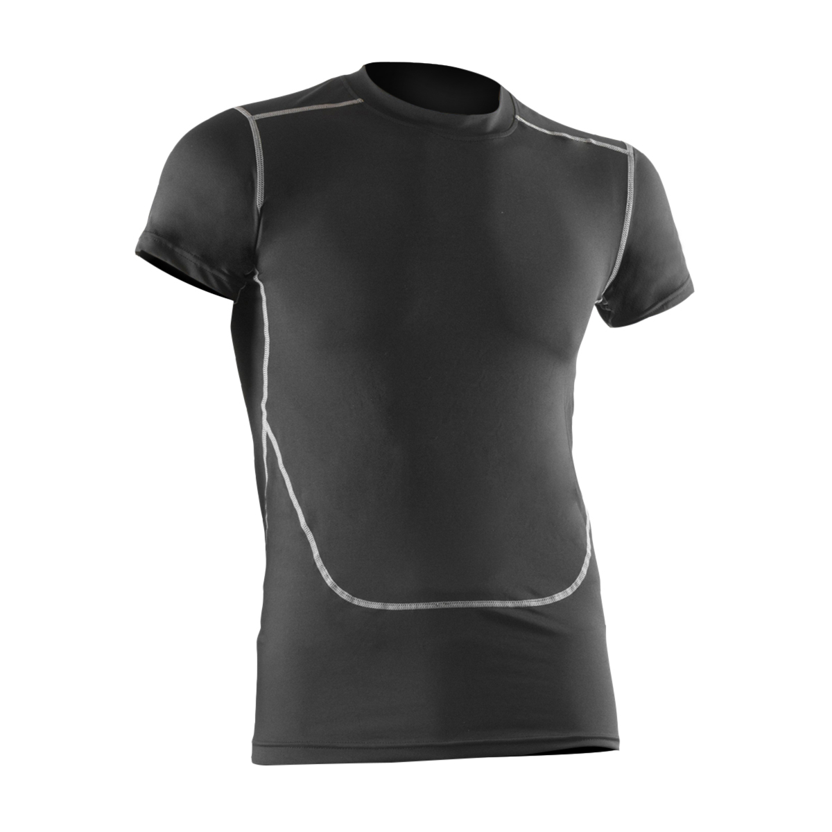 e8e60693e57 Details about Mens Thermal Compression Base Layer T-Shirt Short Sleeve Tops  Tight Wear - Large