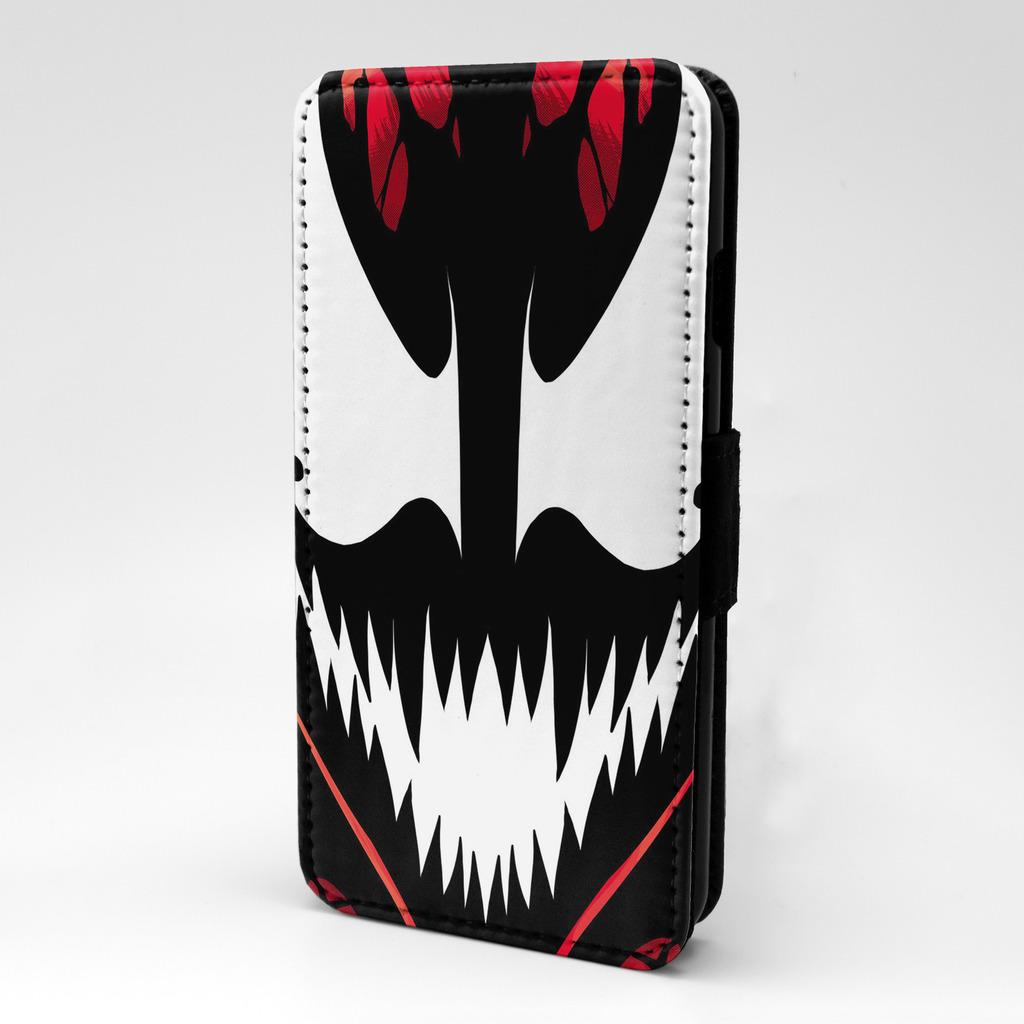 Maravilla-CARNAGE-Venom-Funda-libro-para-telefono-movil-t2016
