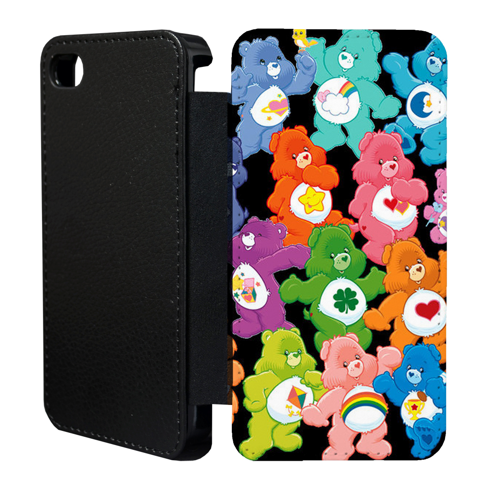 bear iphone case care flip cover for apple iphone t1 10236