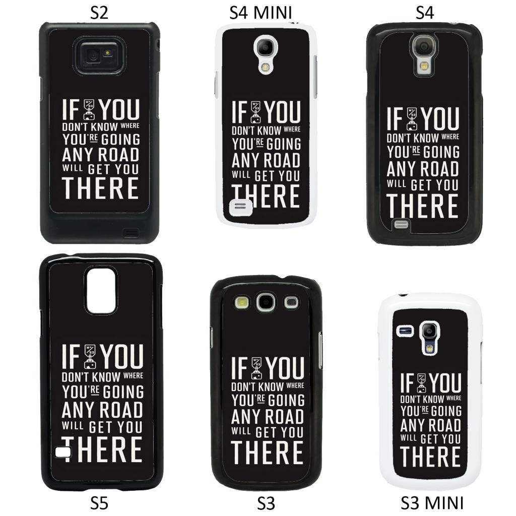 Cell Phone Quotes Life Sayings Quotes Cover Case For All Samsung Galaxy Mobile