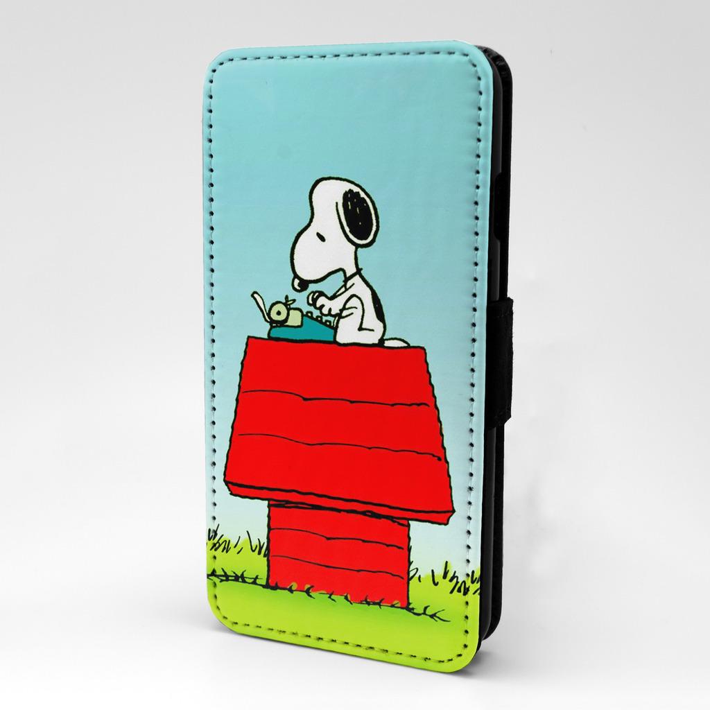 snoopy flip case cover for mobile phone t840 ebay. Black Bedroom Furniture Sets. Home Design Ideas