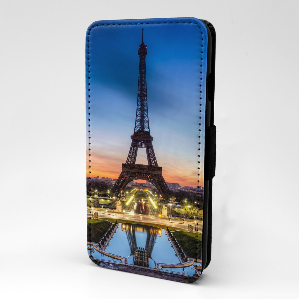 impresion-de-Paris-diseno-Funda-libro-para-Apple-iPhone-P1204