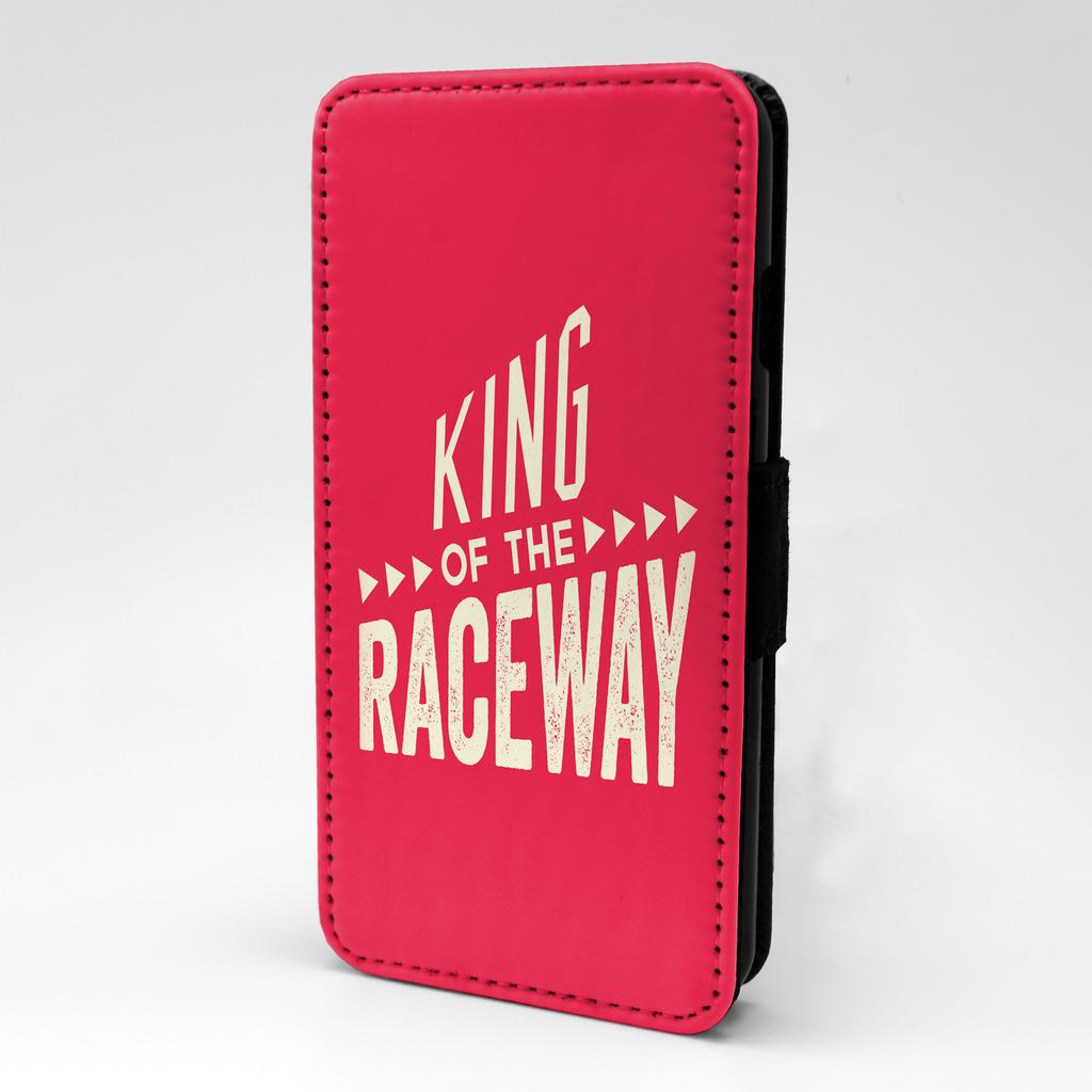 frase-frase-King-Of-The-Raceway-Funda-libro-para-Sony-Experia-P542