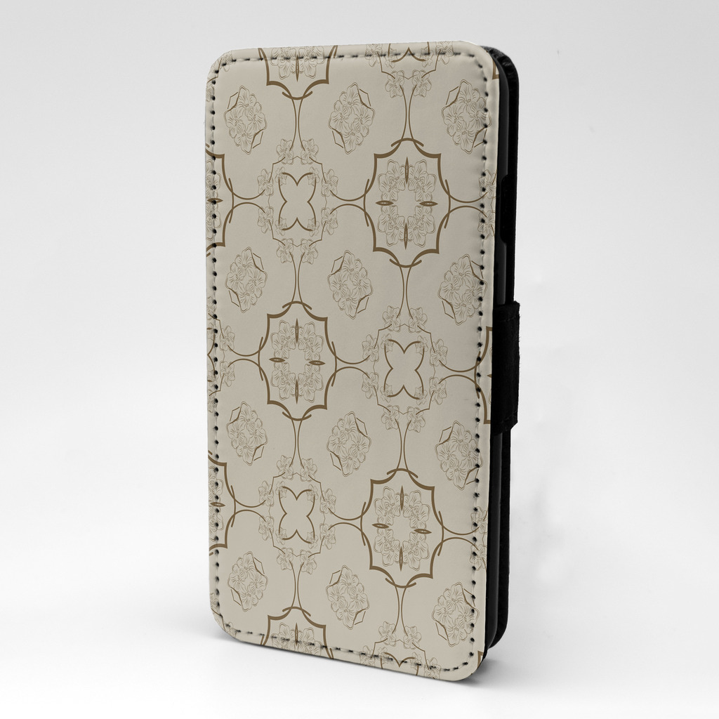 Flower-Floral-Print-Design-Pattern-Flip-Case-Cover-For-Sony-Xperia-P72