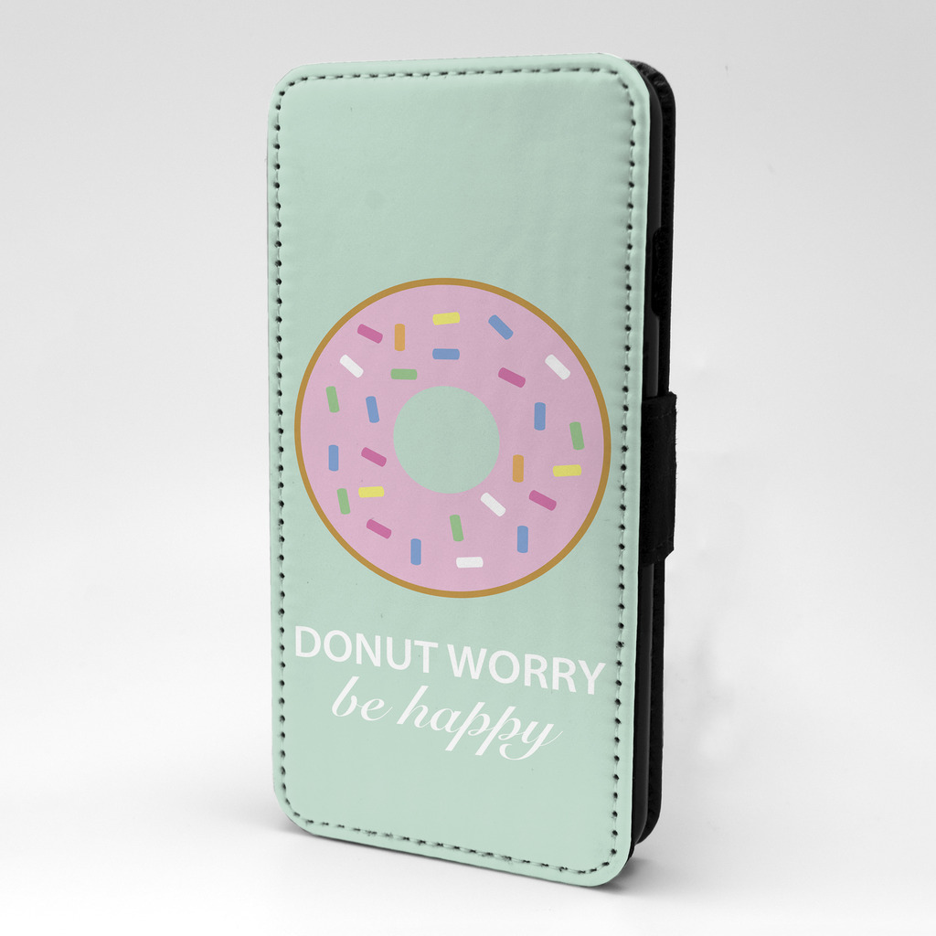 Donut-Worry-diseno-estampado-Funda-libro-para-Samsung-p928