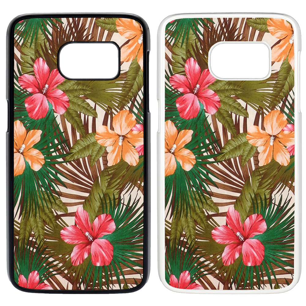 tropische palm blumen bedruckt pc handyh lle cover s t1838 ebay. Black Bedroom Furniture Sets. Home Design Ideas
