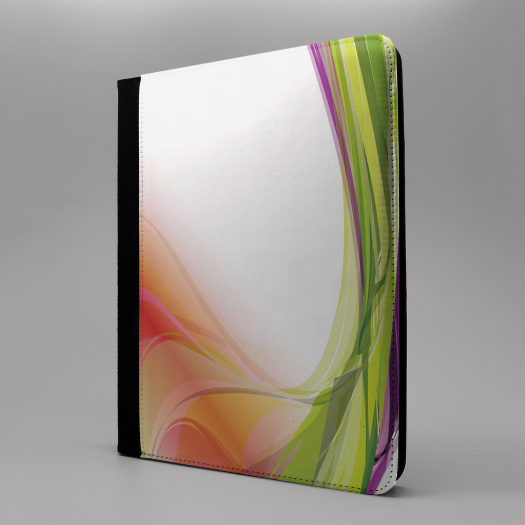 Wave-estampado-abstracto-estampado-Funda-libro-para-Apple-iPad-P10