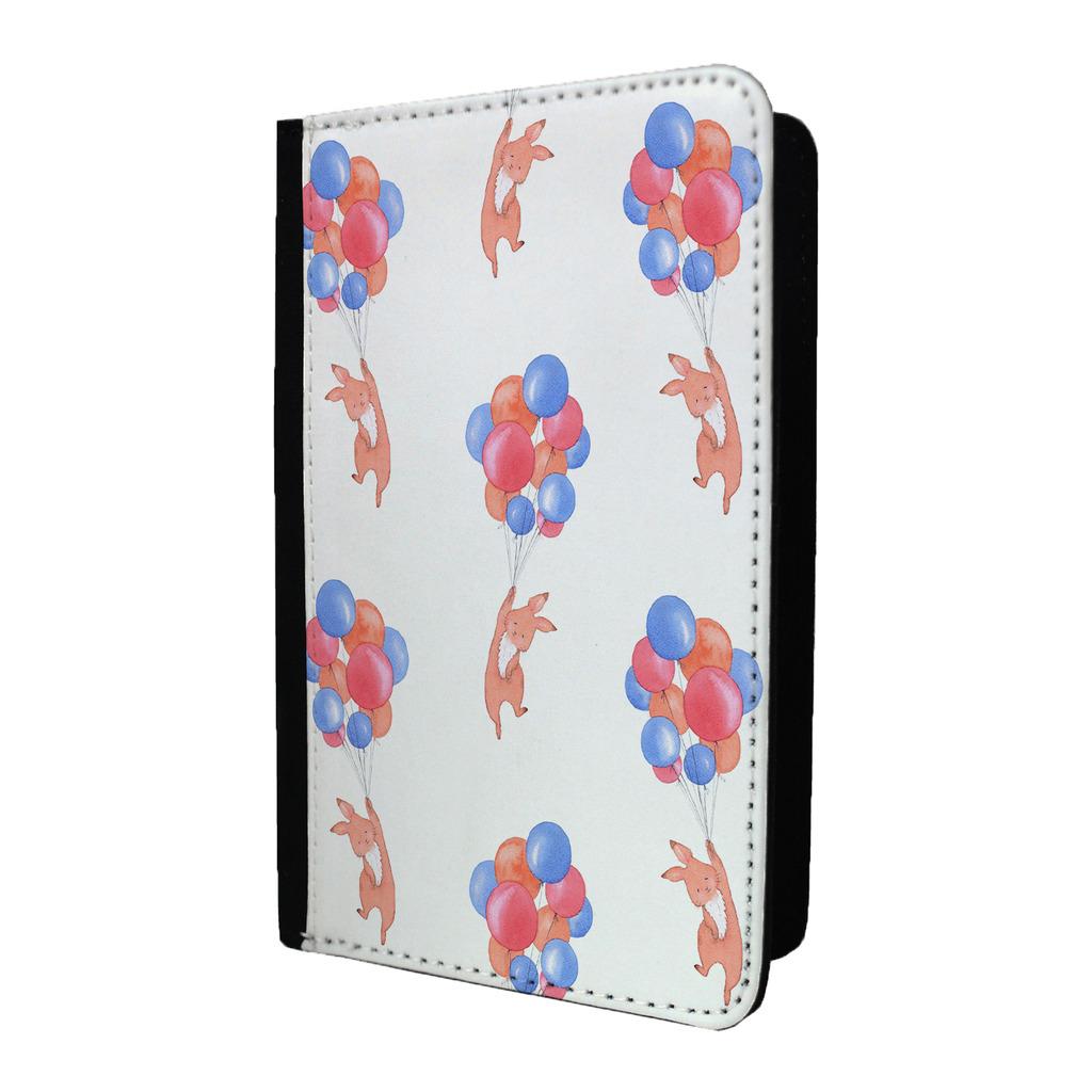 ANIMAUX-amp-Ballons-lapin-rouge-bleu-etiquette-de-bagage-amp-Porte-Passeport-S644