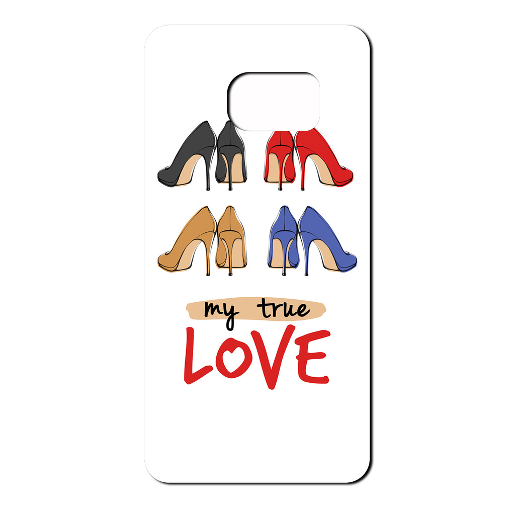 Love Shoes TPU caso cubierta trasera para teléfono móvil-S2394