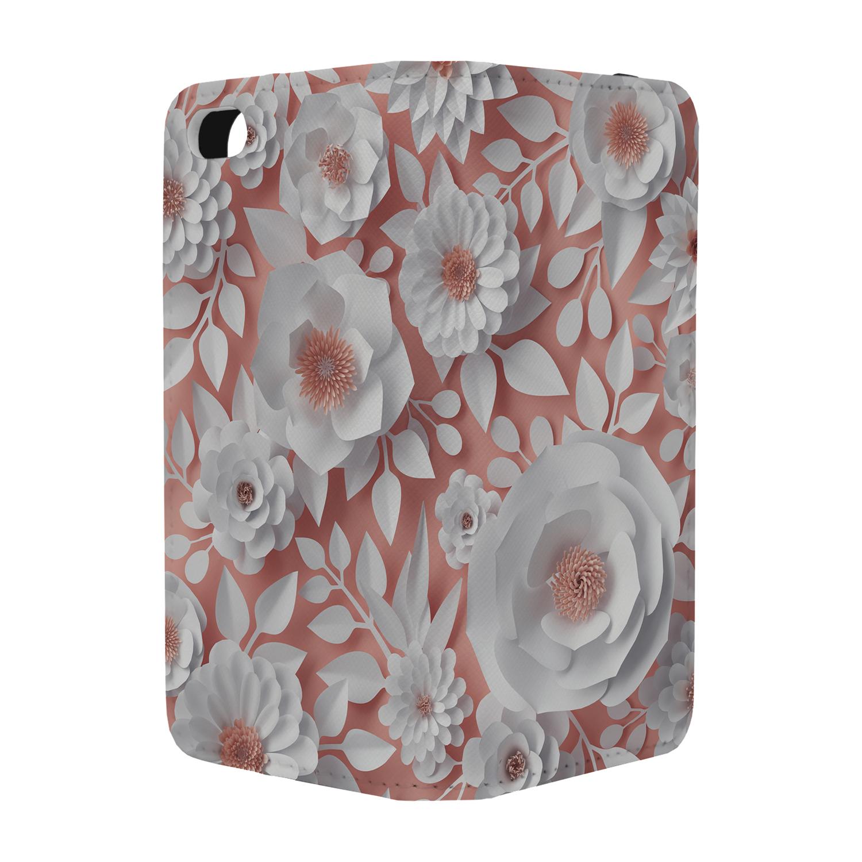 Origami Flower Collage Full Flip Case Cover For Mobile Phone S324