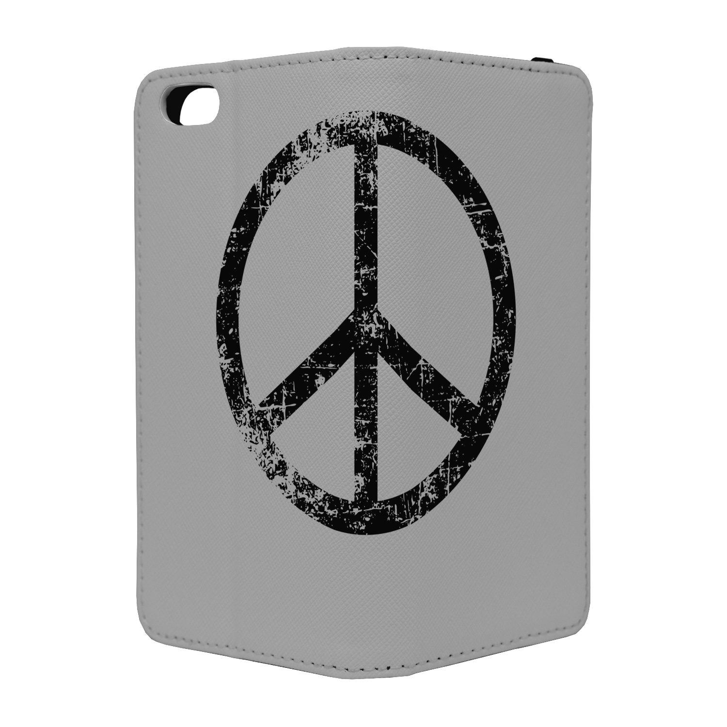 Peace Cool Symbol Full Flip Case Cover For Mobile Phone S1749