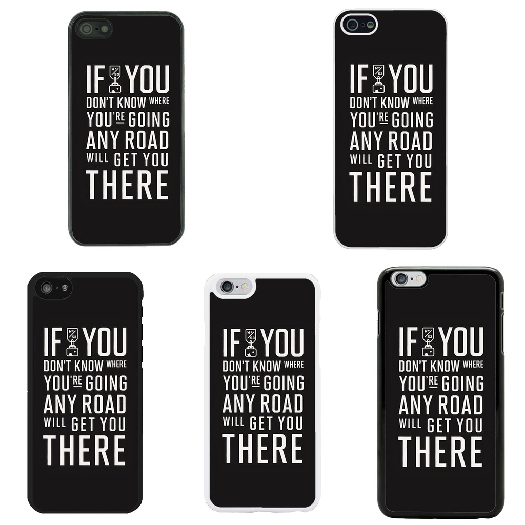 Sayings Quotes Case Cover for Apple iPhone 4 4s 5 5s 6 6 ...