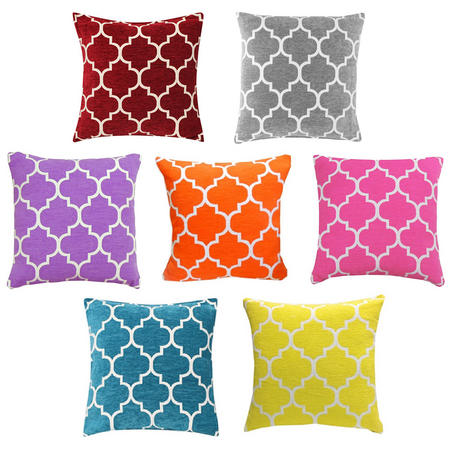 Contemporary Moroccan Style Cushion Cover 45cm x 45cm Thumbnail 1