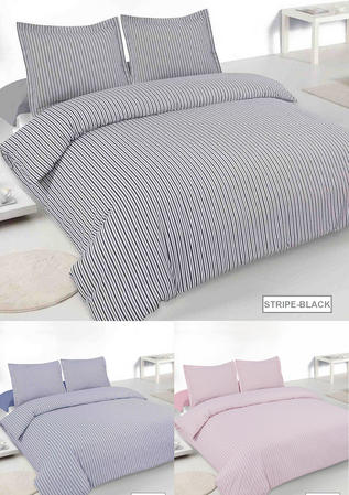 Single Henley Floral Duvet Set in White and Blue Thumbnail 3