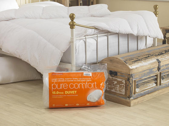 15 Tog - Hollowfibre Duvet