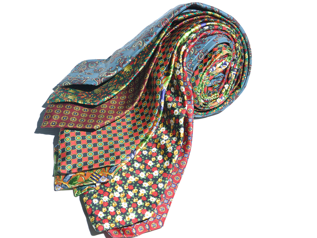 7 Piece Silk Tie Sets