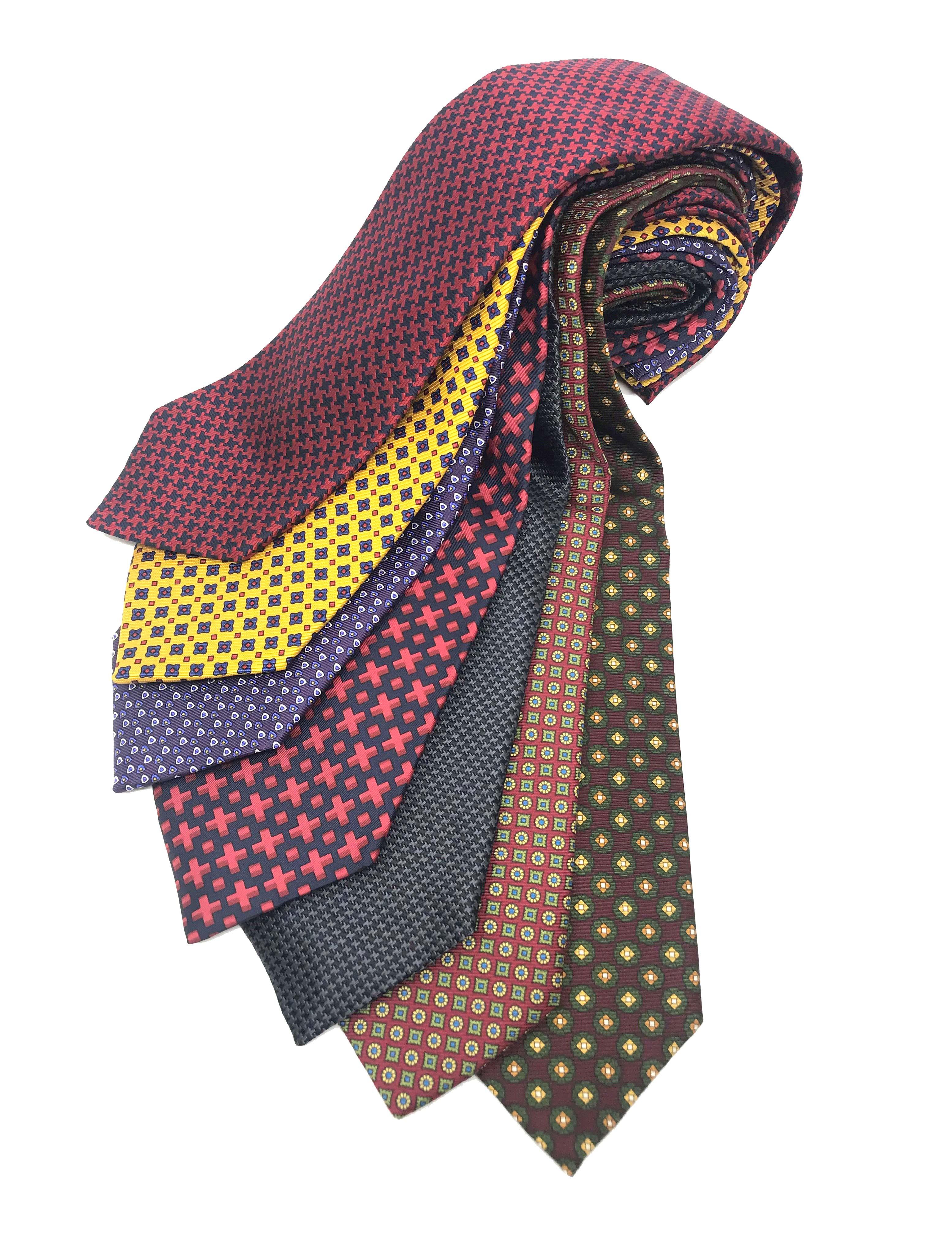 7 Piece Silk Tie Sets