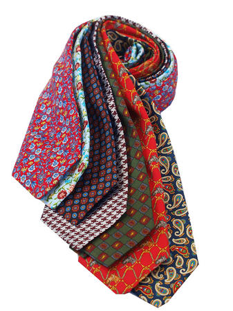 Cavenagh of London 7Piece 100% Pure Silk Ties Made in UK (229D)RRP£139.99 Thumbnail 1