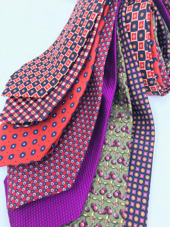 Cavenagh of London 7Piece 100% Pure Silk Ties Made in UK (513D)RRP£139.99 Thumbnail 2