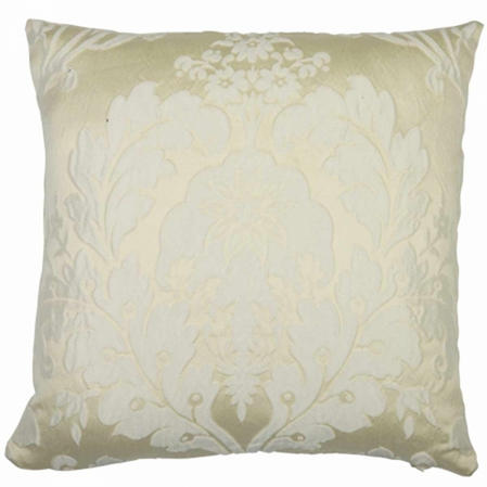Deluxe Boston Jacquard Damask Cushion Cover in Cream Thumbnail 2