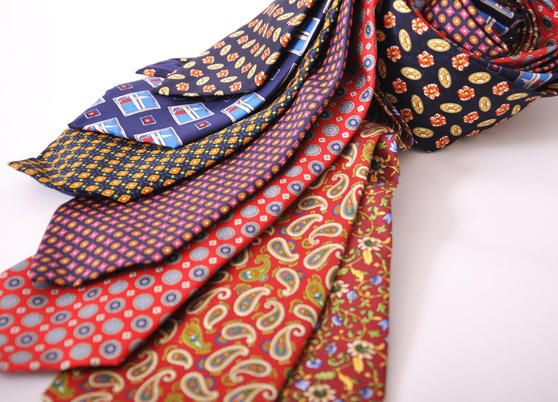 Cavenagh of London 7Piece 100% Pure Silk Ties Made in UK (324D)RRP£139.99 Thumbnail 2