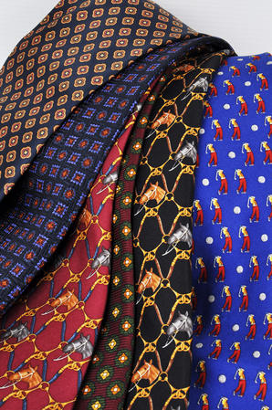 Cavenagh of London 7Piece 100% Pure Silk Ties Made in UK (422D)RRP£139.99 Thumbnail 3