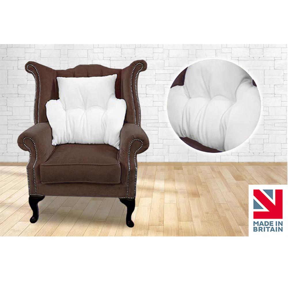 Anti-Bobble Microfleece Multi-Purpose Back Rest Lumbar Support Armchair Cushion