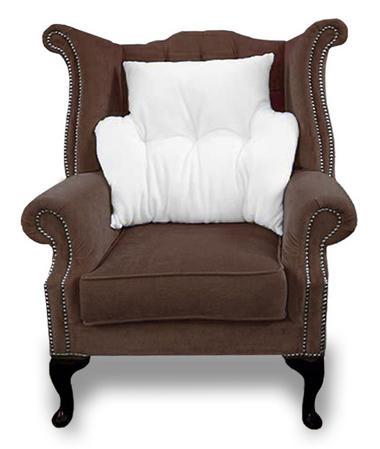 Anti-Bobble Microfleece Multi-Purpose Back Rest Lumbar Support Armchair Cushion Thumbnail 2