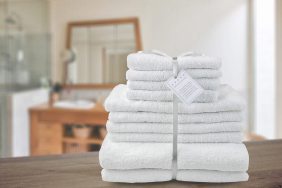 Luxurious Super Soft 100% Turkish Cotton Towel Sets (6 or 10 Pieces) Thumbnail 1