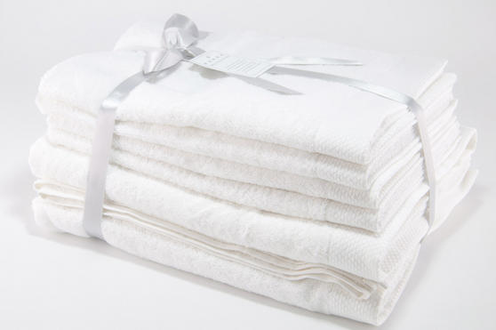 Luxurious Super Soft 100% Turkish Cotton Towel Sets (6 or 10 Pieces) Thumbnail 6