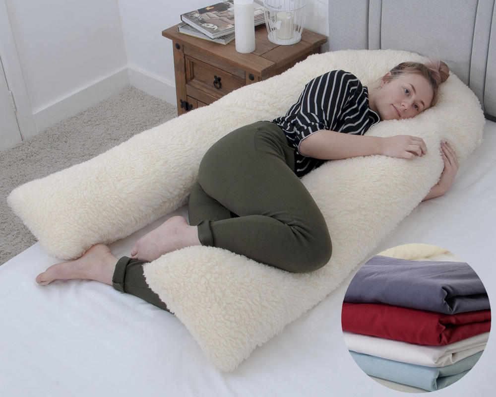 U Shaped Pregnancy Pillow with Cover