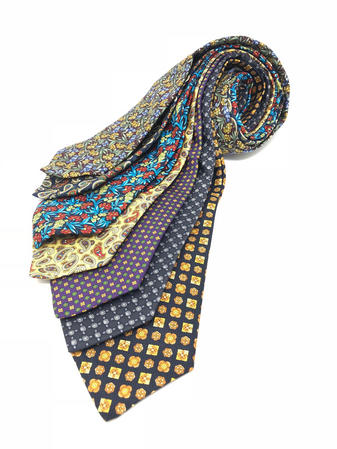 Cavenagh of London 7Piece 100% Pure Silk Ties Made in UK (515D)RRP£139.99 Thumbnail 1