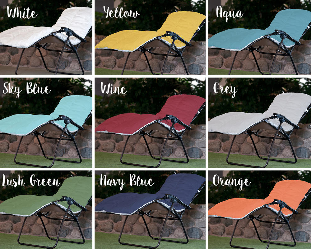 Multi-purpose Sun Lounger Topper Cushion