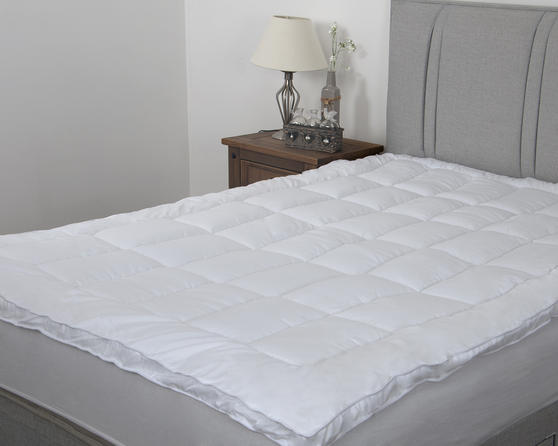Supremely Soft 5cm Microfibre Mattress Topper