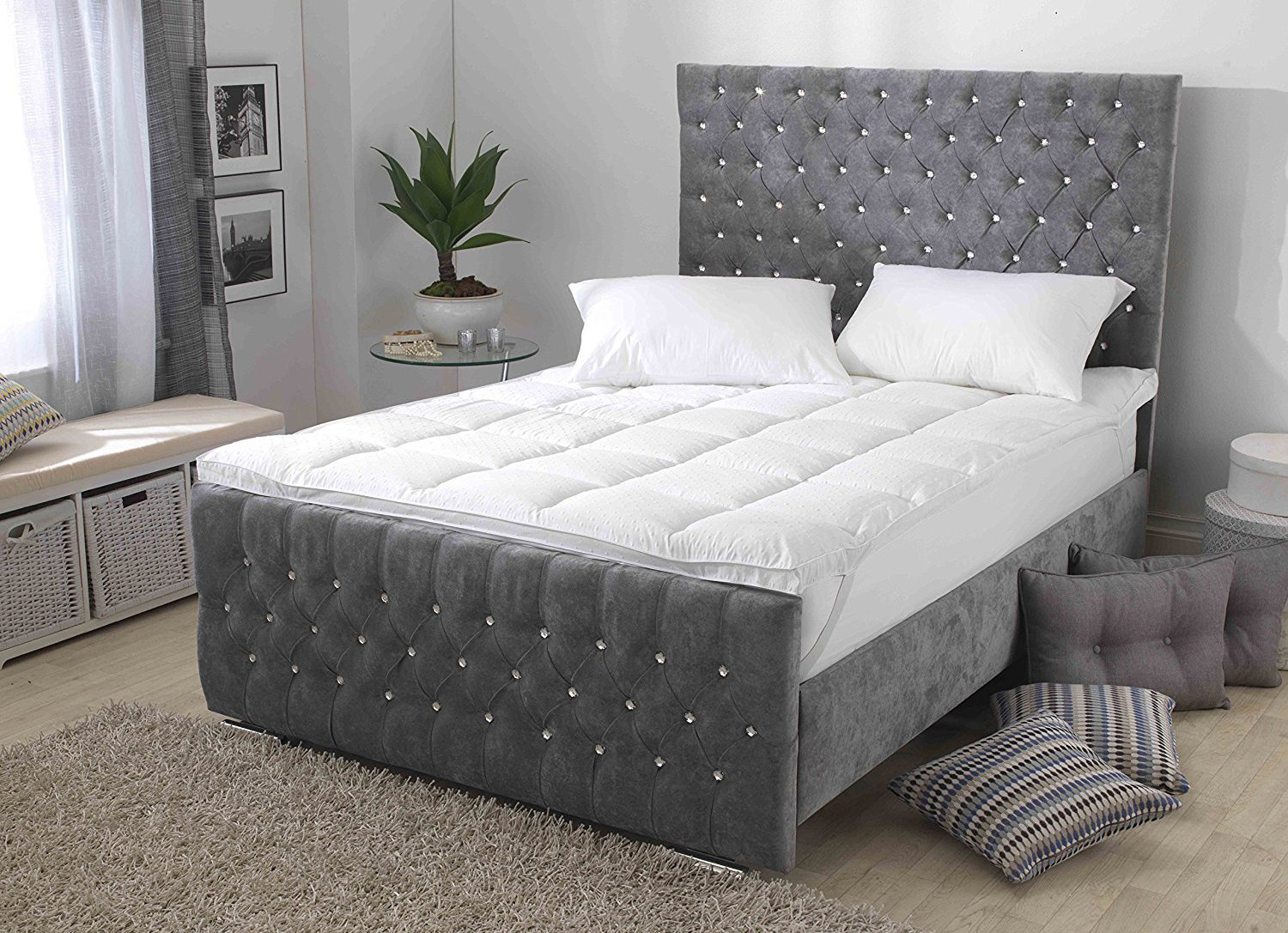 Premium New Deep 3D Embossed Bedding Essentials With Relaxing ...