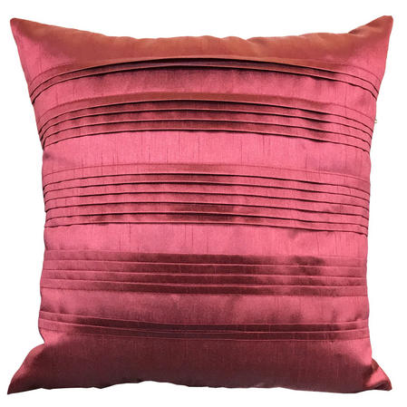 Pleated Pintuck Terracotta Cushion with Various Inner Options Thumbnail 1