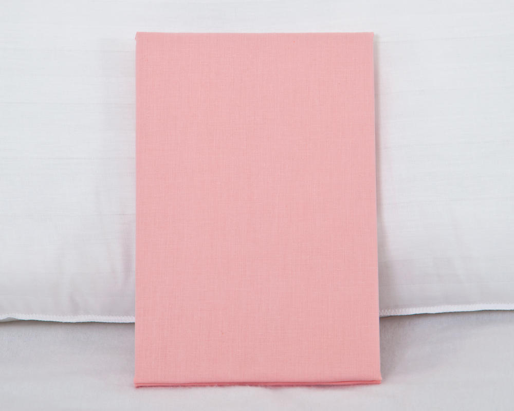 Bolster Pillowcase in Pink