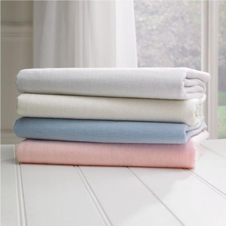 Baby Brushed Cotton Cot Bed Sheets in Various Colours Thumbnail 3
