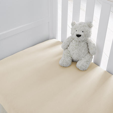 Baby Brushed Cotton Pram Sheets in Various Colours