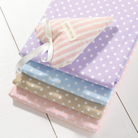 Helena Springfield 100% Brushed Cotton Bedding in Lilac and Blue Thumbnail 2