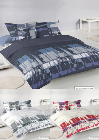 Buckingham Blended Cotton Abstract Duvet Sets in Various Colours Thumbnail 1