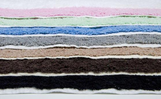 2 Piece 100% Cotton Bath Mat Set in Various Colours Thumbnail 2