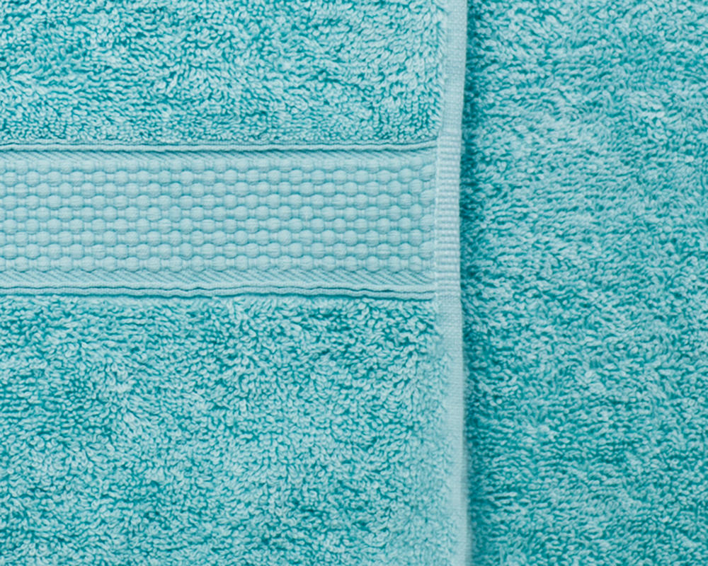 Combed Cotton Super Absorbent 500gsm Towels in Aqua