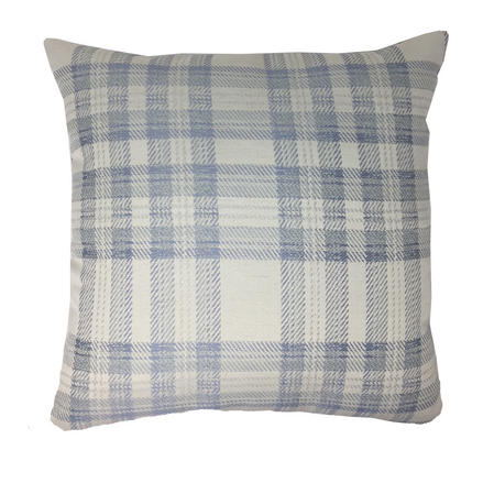 Curtis check pattern cushion with hollowfibre cushion pad Thumbnail 2