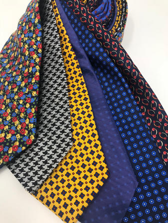 Cavenagh of London 7Piece 100% Pure Silk Ties Made in UK (717D)RRP£139.99 Thumbnail 2