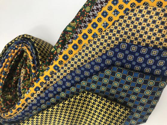 Cavenagh of London 7Piece 100% Pure Silk Ties Made in UK (705D)RRP£139.99 Thumbnail 2