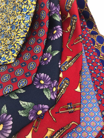 Cavenagh of London 7Piece 100% Pure Silk Ties Made in UK (609D)RRP£139.99 Thumbnail 2