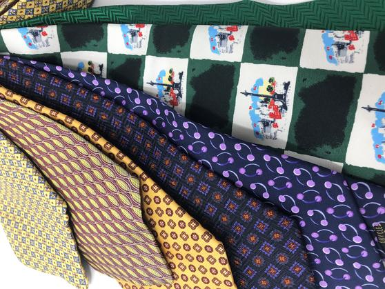 Cavenagh of London 7Piece 100% Pure Silk Ties Made in UK (711D)RRP£139.99 Thumbnail 2